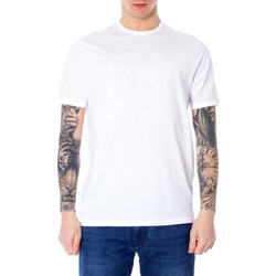 Vêtements Homme T-shirts manches courtes EAX 8NZTCD Z8H4Z Blanc