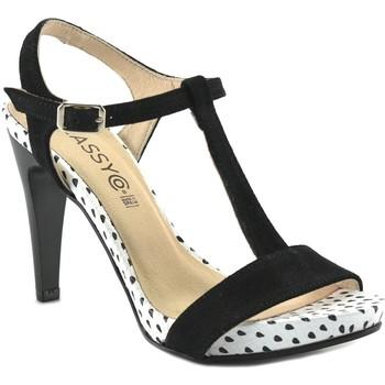 Chaussures Femme Sandales et Nu-pieds Classyco  Noir