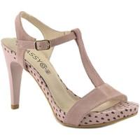 Chaussures Femme Sandales et Nu-pieds Classyco  Rose