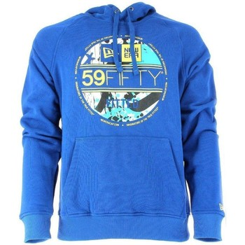 Vêtements Homme Sweats New-Era FELPA BLU SA VISOR PO HOODY Bleu