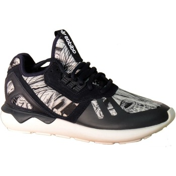 Chaussures Fille Baskets basses adidas Originals TUBULAR RUNNER NERE Noir