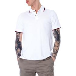 Vêtements Homme Polos manches courtes EAX 8NZF75 Z8M5Z Blanc