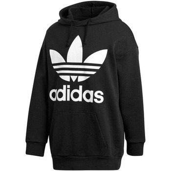Vêtements Homme Sweats adidas Originals OVER HOOD FELPA CON CAPPUCCIO NERA Noir