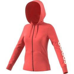 Vêtements Femme Vestes de survêtement adidas Originals ESS LIN FZ HD GIACCHETTO CORALLO Rouge
