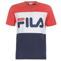 Vêtements Homme T-shirts manches courtes Fila MEN DAY tee Marine / Rouge / Blanc