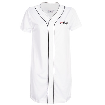 Vêtements Femme Robes courtes Fila ROBIN Blanc