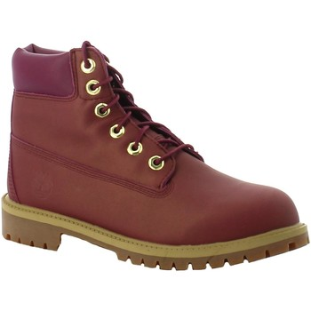 Chaussures Fille Boots Timberland 6 IN PREMIUM WP VIOLA violet