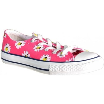 Chaussures Fille Baskets basses Converse CT PRINT OX ROSA Rose