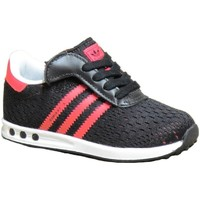 Chaussures Fille Baskets basses adidas Originals La Trainer Em Cf I Nere Noir