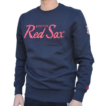 Vêtements Homme Sweats New-Era Team Apparel Crew Neck Bosred Felpa Blu Bleu