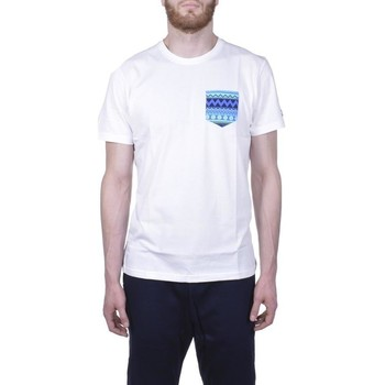 Vêtements Homme T-shirts manches courtes New-Era NATIVE POCKET TEE BIANCA Blanc