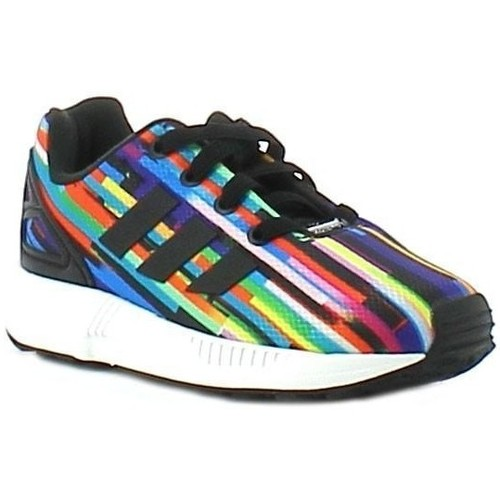 Chaussures Fille Baskets basses adidas Originals Zx Flux El I Multicolor