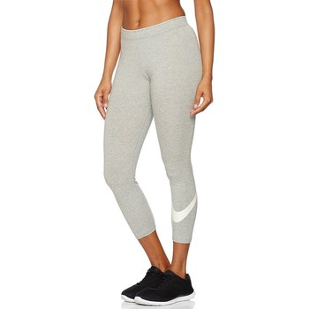Vêtements Femme Leggings Nike W Nsw Club Crop Logo Leggings Grigi Gris