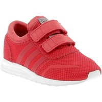 Chaussures Fille Baskets basses adidas Originals Rosse Los Angeles Cf I rouge