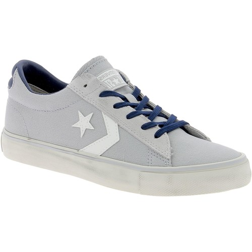 c86fd7f59c Chaussures Homme Baskets basses Converse PRO LEATHER VULC DISTRESSED OX  GRIGIE Gris