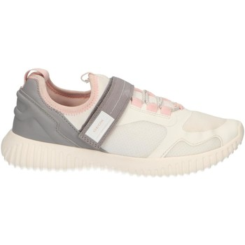 Chaussures Fille Baskets basses Geox J926DC 01415 J WAVINESS Blanco