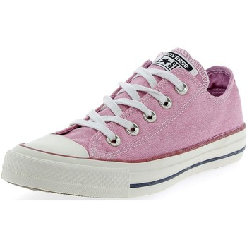 Chaussures Fille Baskets basses Converse CTAS OX ROSA Rose