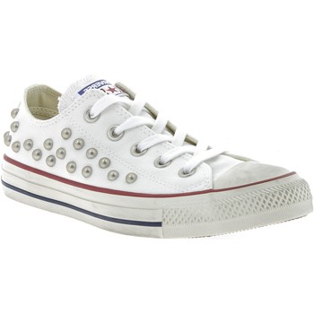 Chaussures Homme Baskets basses Converse CTAS DISTRESSED OX BORCHIE BIANCHE Blanc