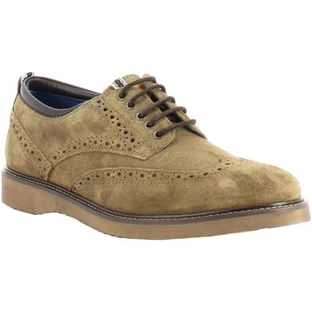 Chaussures Homme Derbies Wrangler Crossfield Brogue Suede Beige
