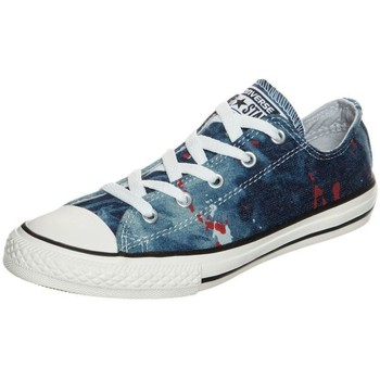 Chaussures Garçon Baskets basses Converse ALL STAR CHUCK TAYLOR OX BLU DENIM Bleu