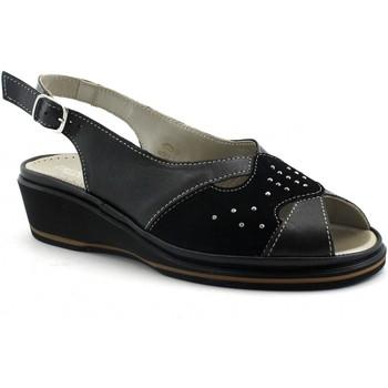 Chaussures Femme Sandales et Nu-pieds Grunland GRU-E19-SA1413-NE Nero