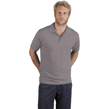 Vêtements Homme Polos manches courtes Promodoro Polo supérieur Hommes Promotion gris