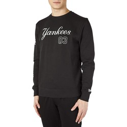 Vêtements Homme Sweats New-Era NY YANKEES FELPA NERA FELPATA Noir