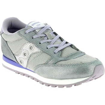 Chaussures Fille Baskets basses Saucony Jazz Original Argento Argenté