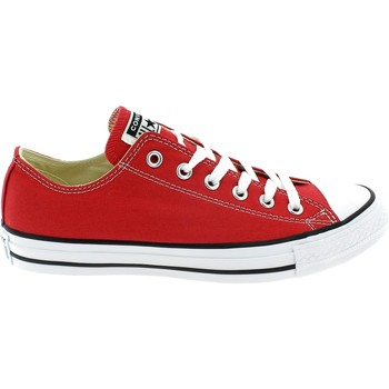 Chaussures Homme Baskets basses Converse ALL STAR OX OPTICAL BASSE ROSSE Rouge