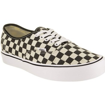 Chaussures Fille Baskets basses Vans AUTHENTIC LITE CHECKERBOARD Noir
