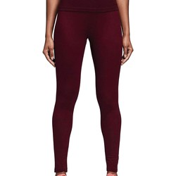 Vêtements Femme Leggings adidas Originals TREFOIL TIGHT LEGGINGS NERI rouge