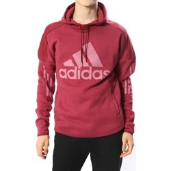 Vêtements Homme Sweats adidas Originals SID LOGO FELPA CAPPUCCIO BORDEAUX rouge