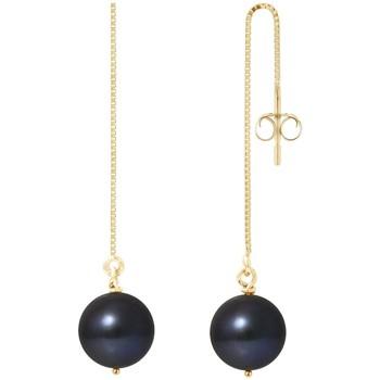 Montres & Bijoux Femme Boucles d'oreilles Blue Pearls BPS K396 W Multicolore