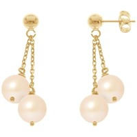 Montres & Bijoux Femme Boucles d'oreilles Blue Pearls BPS K394 W Multicolore