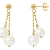 Montres & Bijoux Femme Boucles d'oreilles Blue Pearls BPS K392 W Multicolore