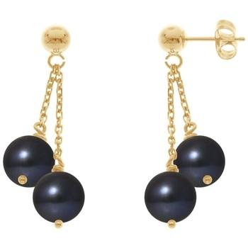 Boucles oreilles Blue Pearls BPS K393 W