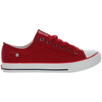Chaussures Femme Baskets basses Big Star DD274339 rouge