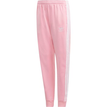 Vêtements Fille Pantalons de survêtement adidas Originals J SST TUTA ROSA rose