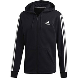 Vêtements Homme Sweats adidas Originals MH 3S FZ FT FELPA CAPPUCCIO ZIP NERA GARZATA Noir