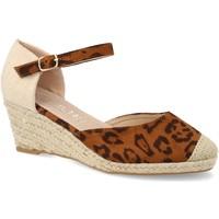 Chaussures Femme Espadrilles H&d HD-280 Leopardo