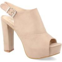 Chaussures Femme Sandales et Nu-pieds Ainy Y288-65 Beige