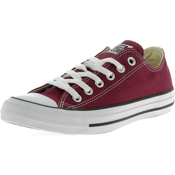 Chaussures Homme Baskets basses Converse ALL STAR OX OPTICAL BASSE BORDEAUX Rouge