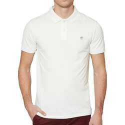 Vêtements Homme Polos manches courtes Timberland River Pque Bianca Blanc