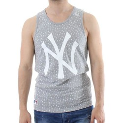 Vêtements Homme Débardeurs / T-shirts sans manche New-Era MLB New York Yankees Canotta Grigia Gris