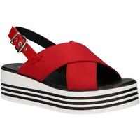 Chaussures Femme Sandales et Nu-pieds MTNG 57820 Rojo