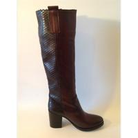Chaussures Femme Bottes ville Zampa 440 rouge