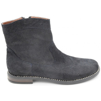 Chaussures Fille Boots Bellamy isio bleu