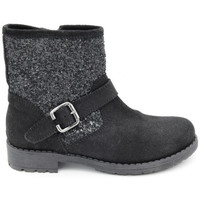 Chaussures Fille Boots Reqin's speed glitter Noir