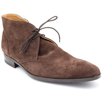 Chaussures Homme Boots Paco Milan 346 Marron