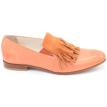 Chaussures Femme Mocassins Triver Flight 196-07b orange